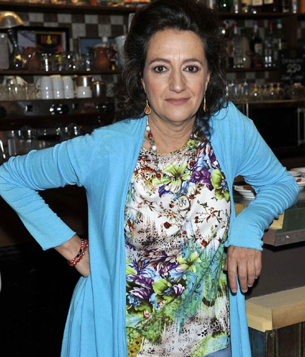 Malena Gutiérrez es Bernarda, dueña del bar y la madre de Toño