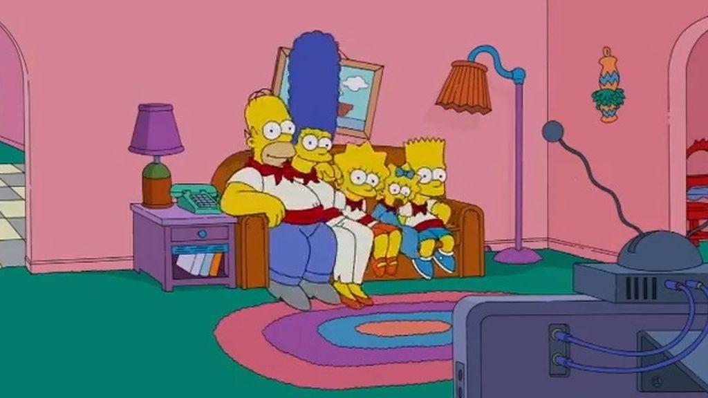 Los Simpson, en los encierros de San Fermín
