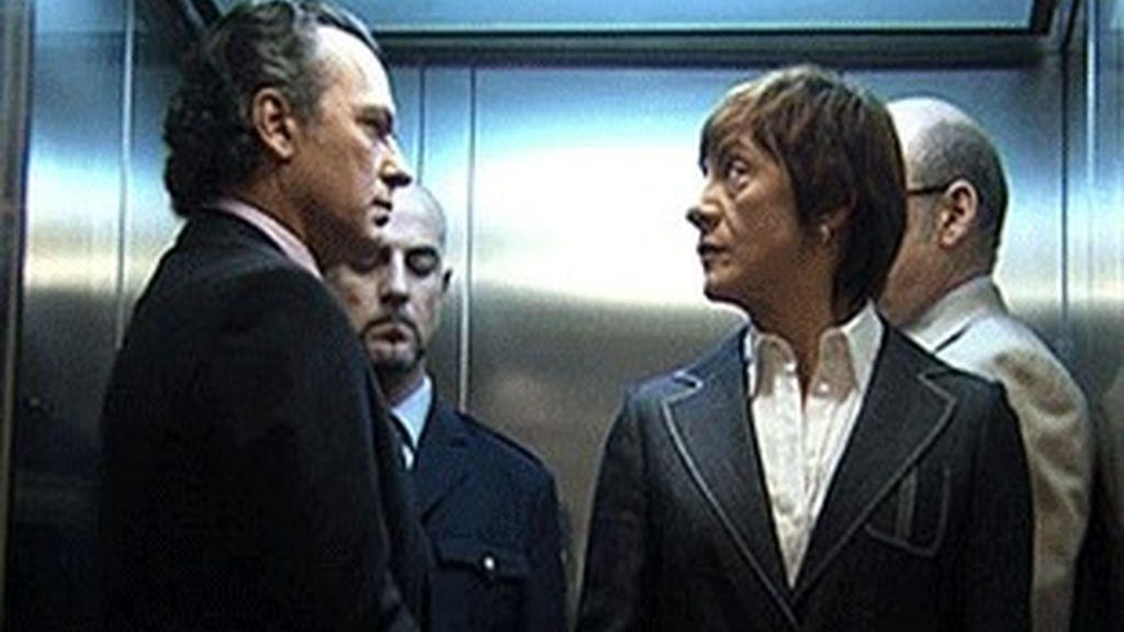José Coronado y Blanca Portillo, en el próximo episodio de 'Acusados'.
