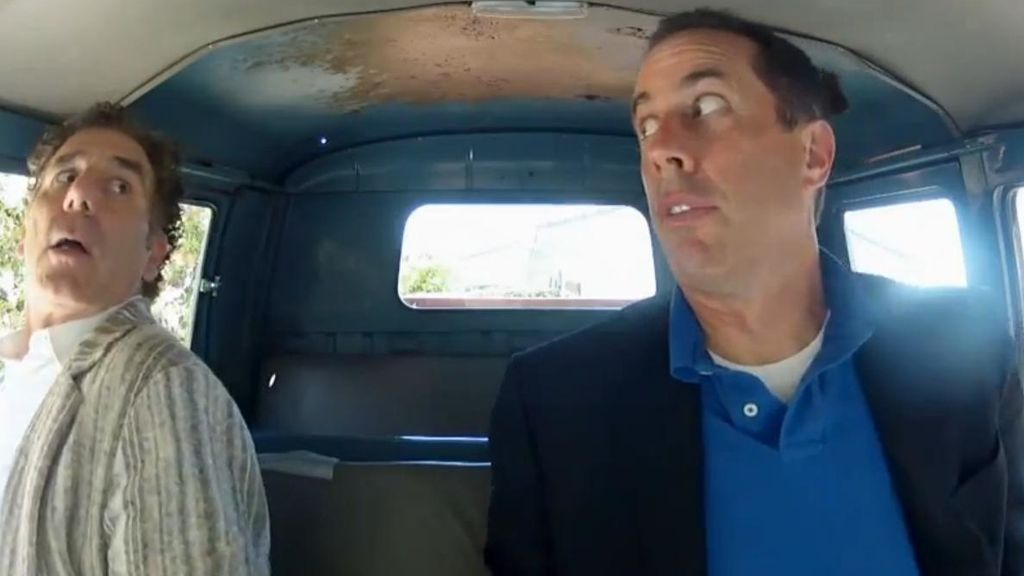 Comedians in cars getting coffee, Jerry Seinfeld