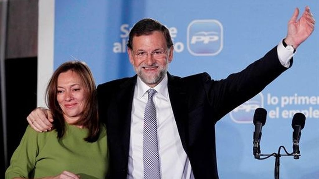 Rajoy y mujer