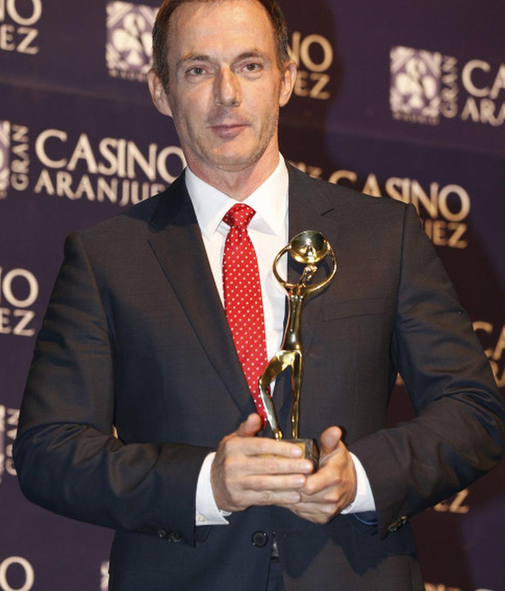 Hilario Pino, premiado con Antena de Oro