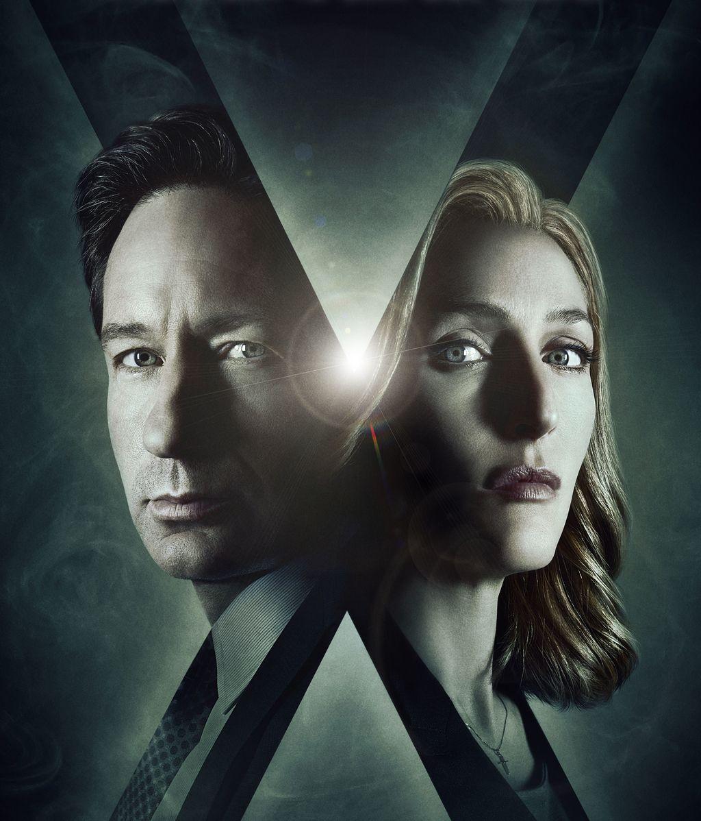 Imágenes de David Duchovny y Gillian Anderson en 'Expediente X'