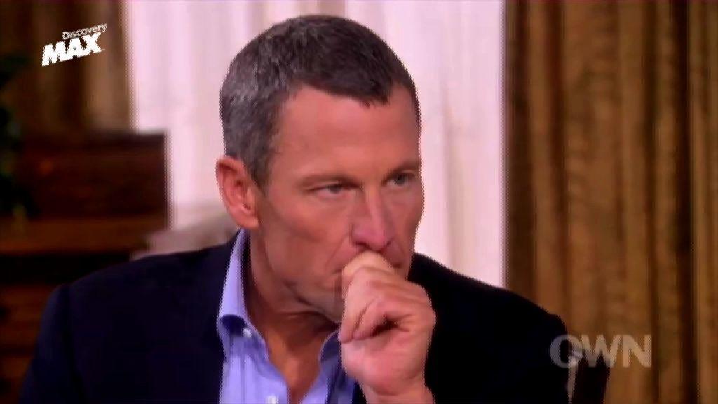 """¿Sí o no?"". Armstrong contesta claramente a las preguntas de Oprah"
