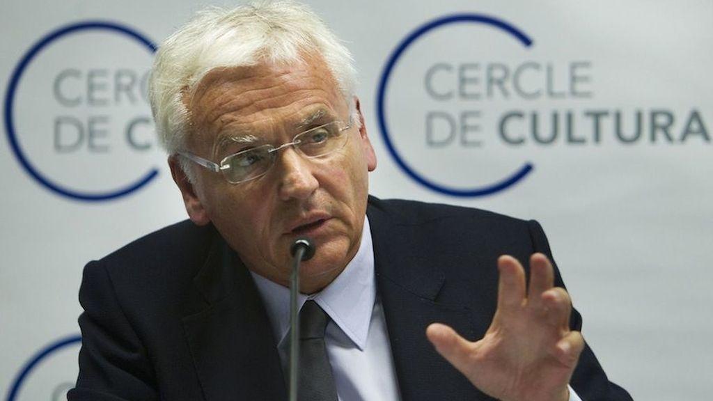 Consejero de Cultura Ferran Mascarell