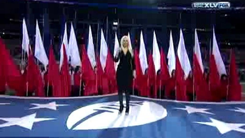 El himno USA, versión superbowl