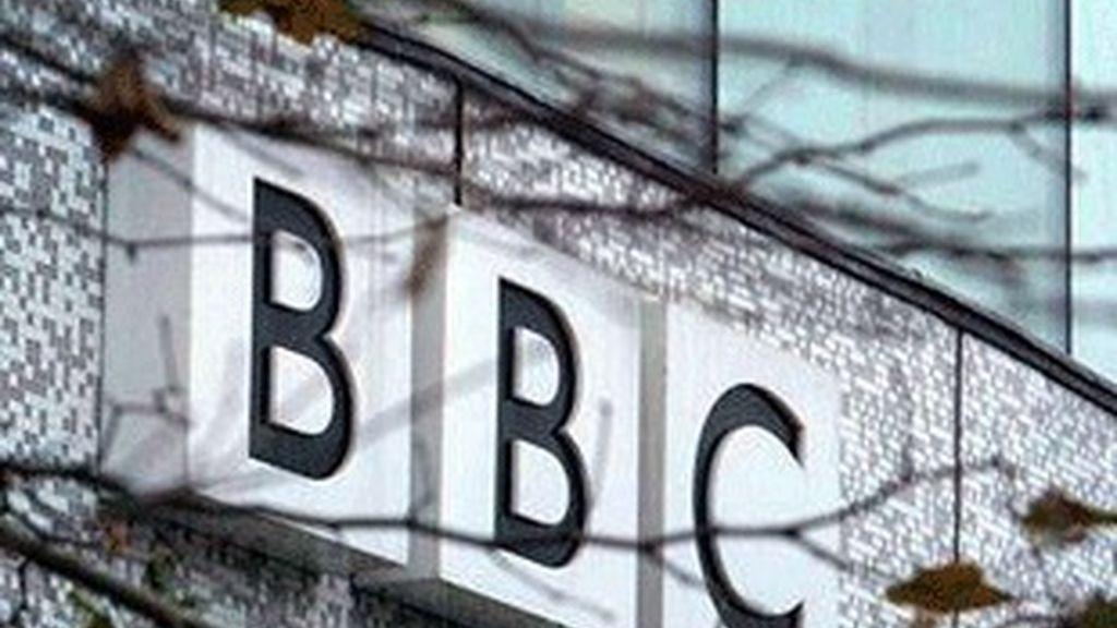 Fachada de un edificio de la BBC.