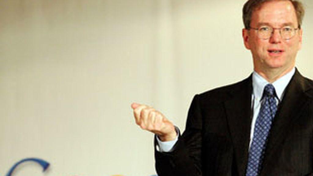 Eric Schmidt, presidente y director general de Google.