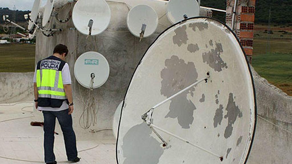 Detenidos piratear televison pago