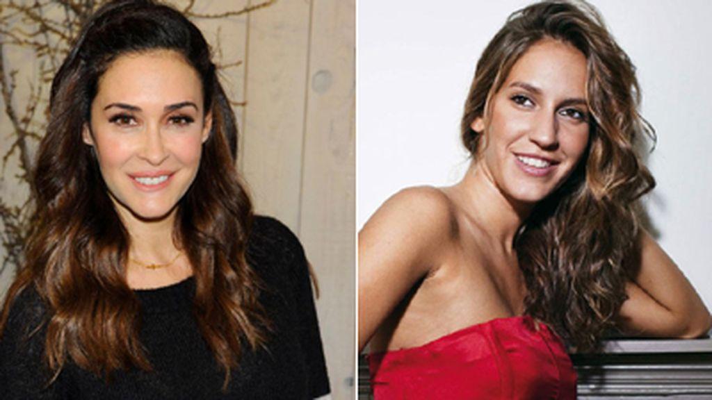 Vicky Martin Berrocal y María Toledo,