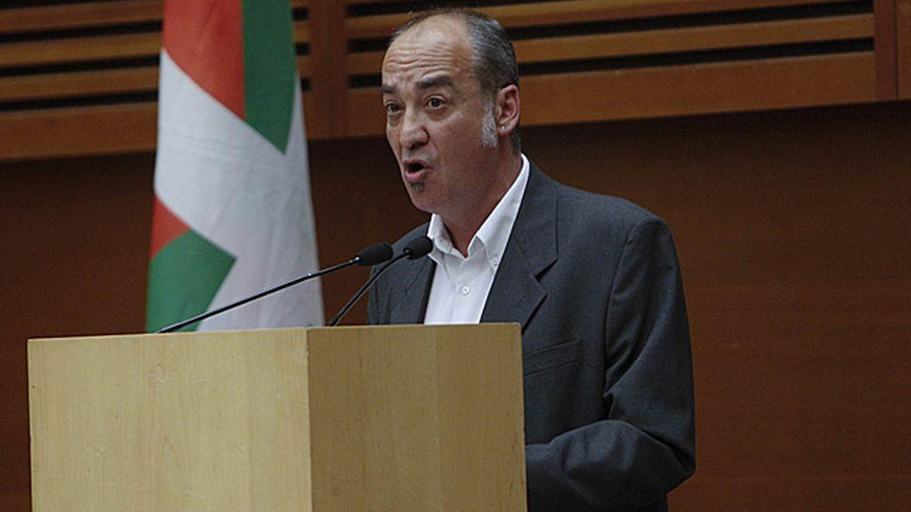 Martín Garitano, diputado general de guipúzcoa