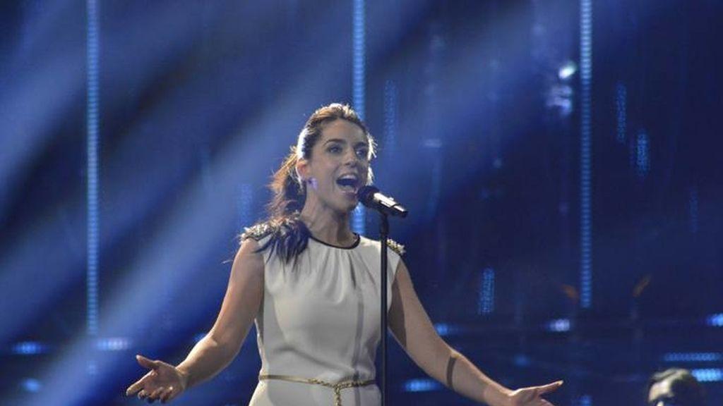 Ruth Lorenzo, primer ensayo Eurovisión 2014