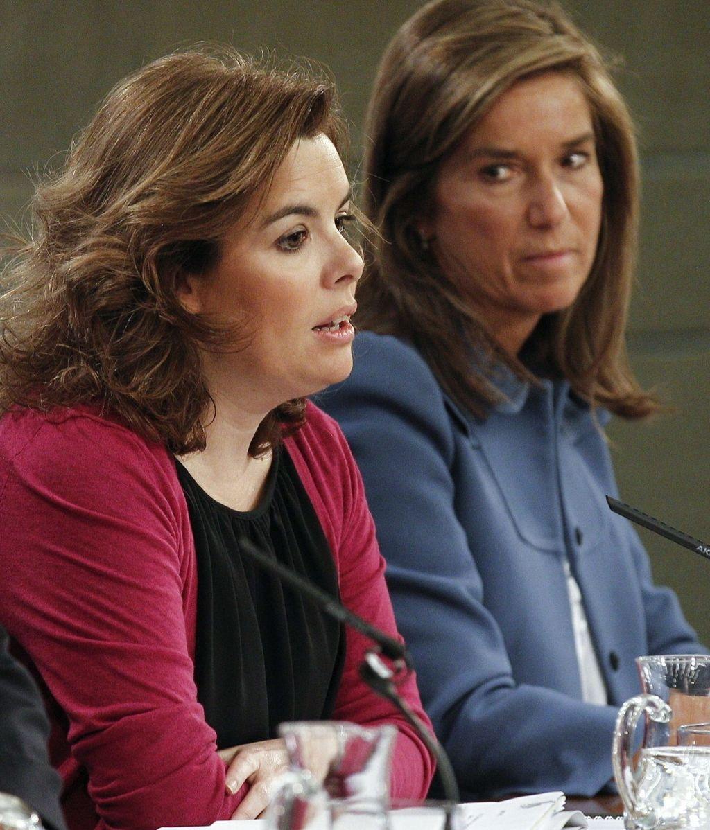 Soraya Sáenz de Santamaría, Consejo de Ministros del 20/04/2012