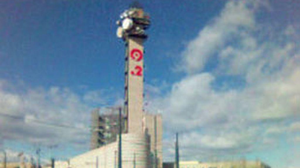 Fachada del edificio de Radio Televisión Valenciana.
