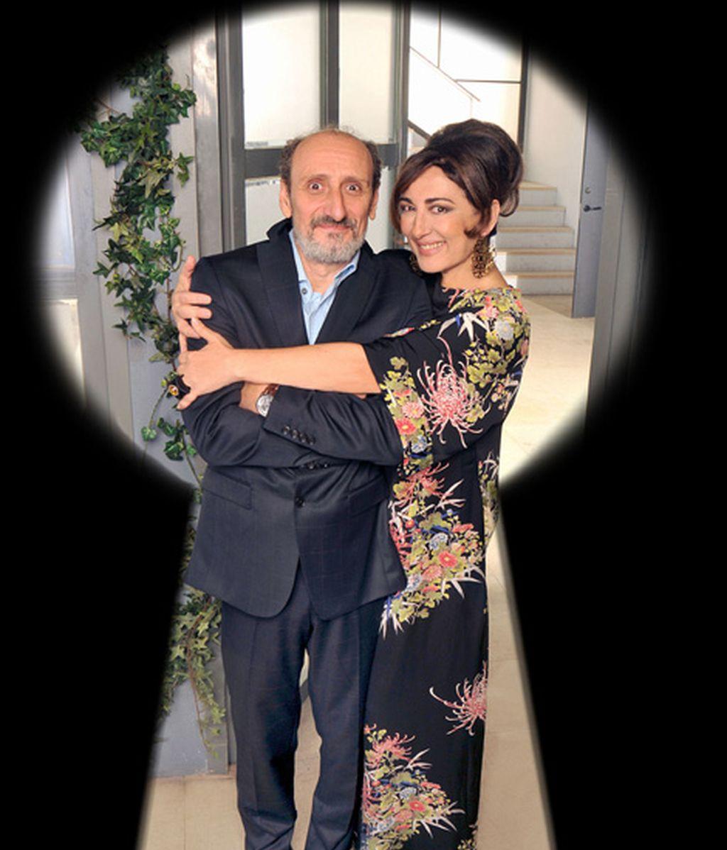 José Luis Gil e Isabel Ordaz son Enrique Pastor y Araceli Madariaga