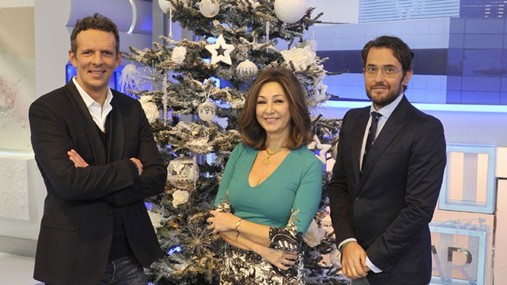 Ana Rosa y sus colaboradores en Navidad