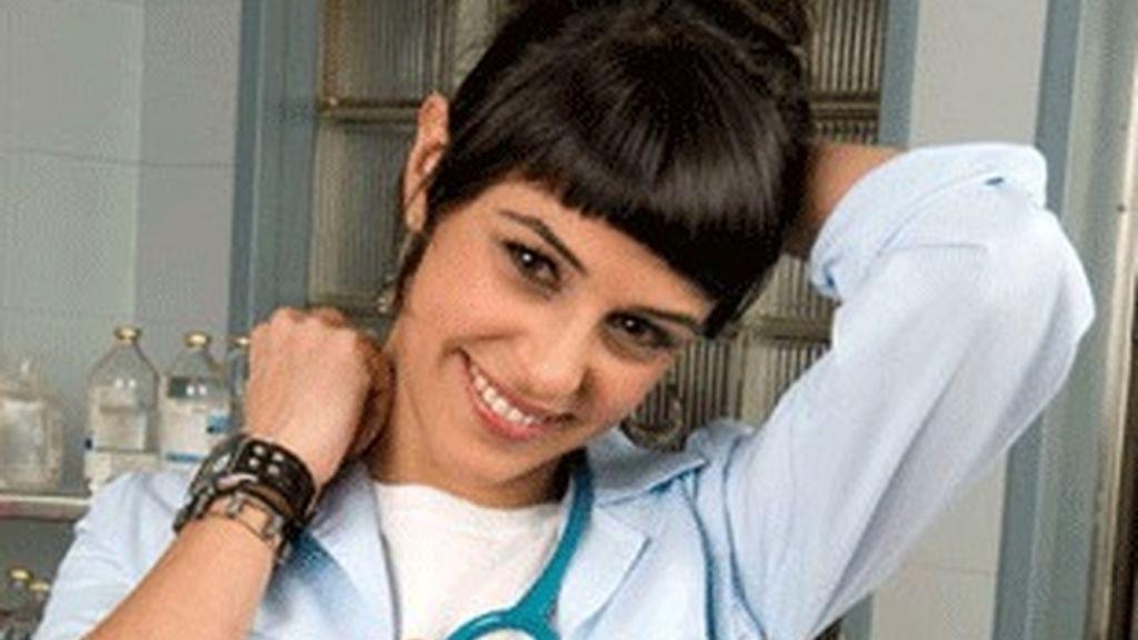 Sara Casasnovas, caracterizada como Jose en 'Hospital Central'.