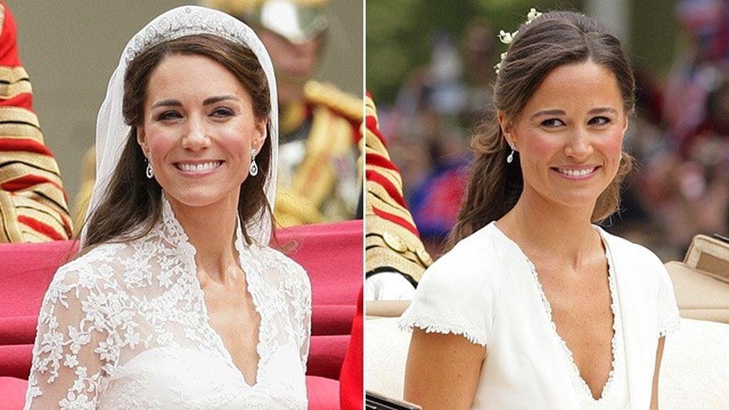 Kate y Pippa, tan parecidas y tan distintas