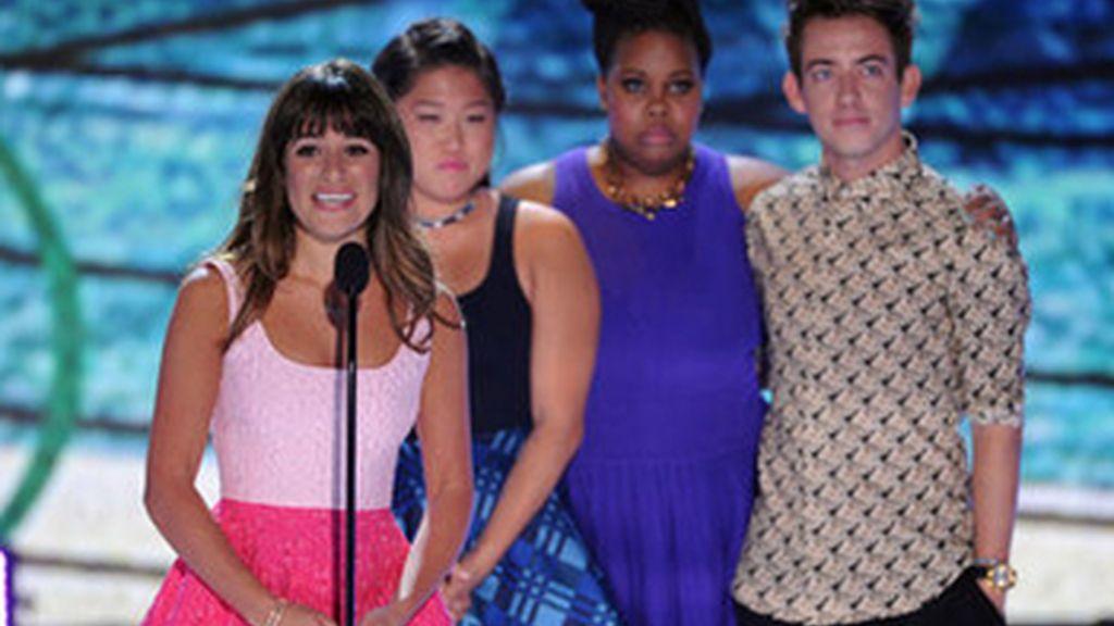 Lea Michele dedica su Teen Choice Award a Cory Monteith