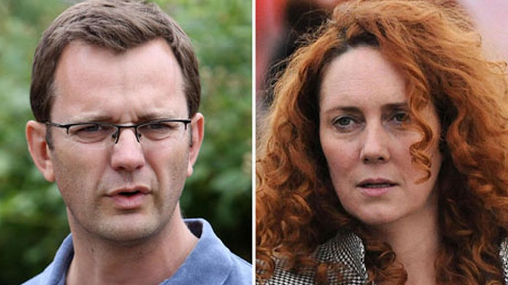 Andy Coulson y Rebekah Brooks