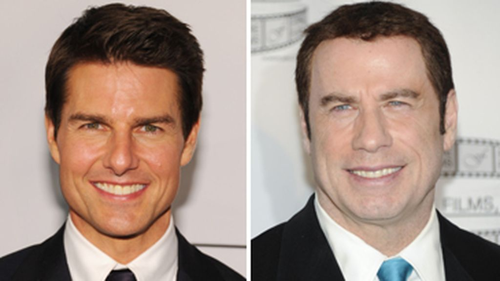 Montaje Tom Cruise y John Travolta