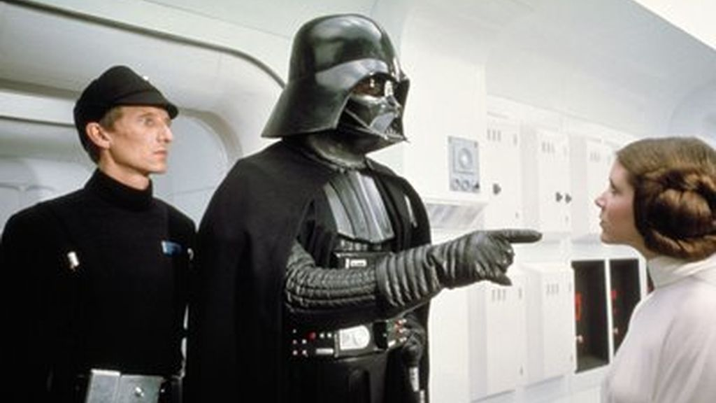 Leia y Darth Vader