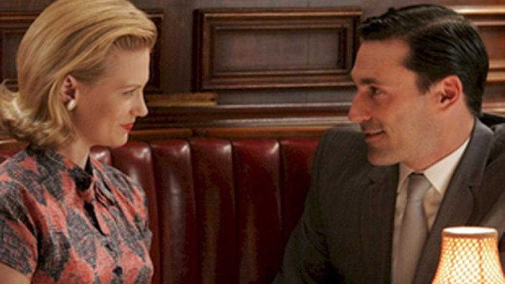Escena de la serie 'Mad Men'.
