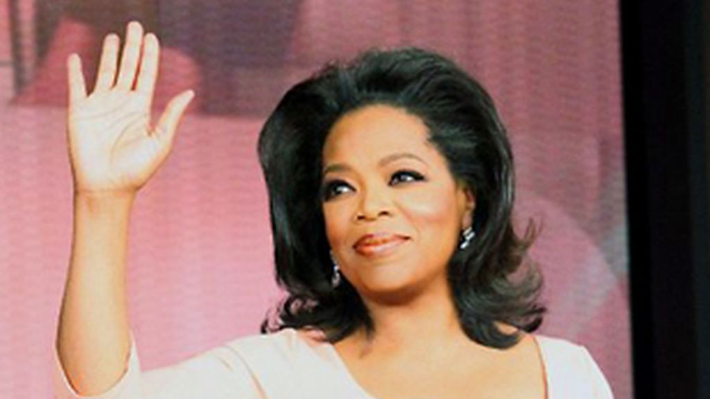 Oprah Winfrey en el último programa de 'The Oprah Winfrey Show'.