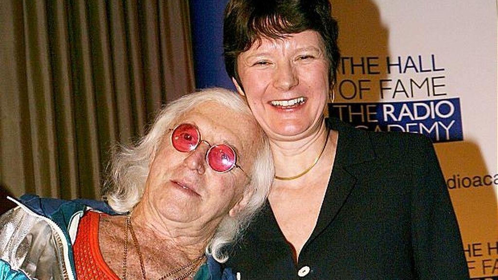 Jimmy Savile y Helen Boaden