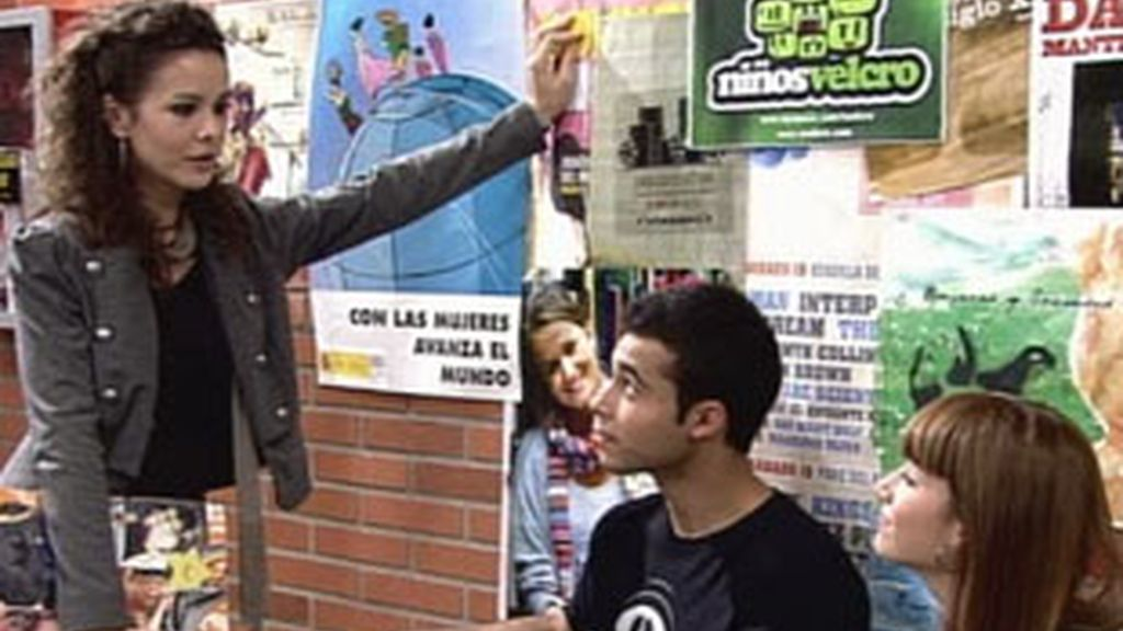 Fotograma de la serie 'Física o Química' (Antena 3).