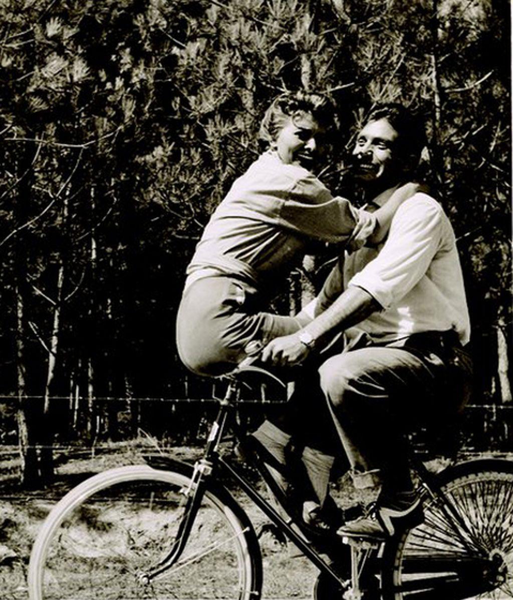 Sophia Loren y Rick Battaglia