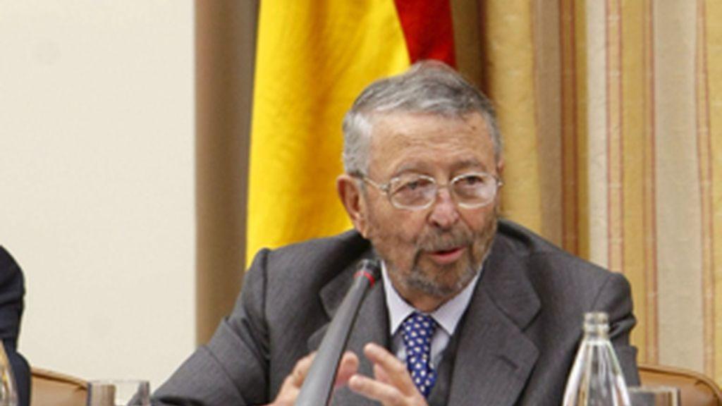 El presidente de RTVE, Alberto Oliart.