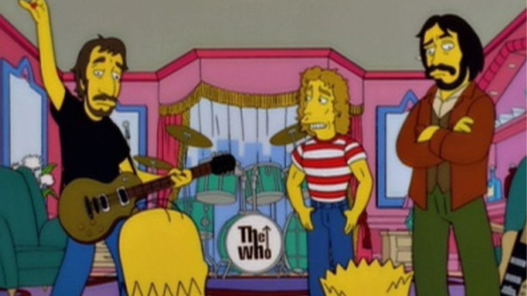 The Who, pacificadores de conflicto en 'Los Simpson'