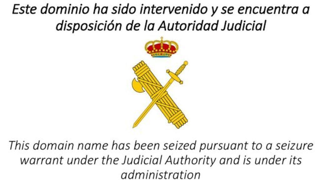 La jueza ordena desactivar tres webs sobre el referéndum catalán