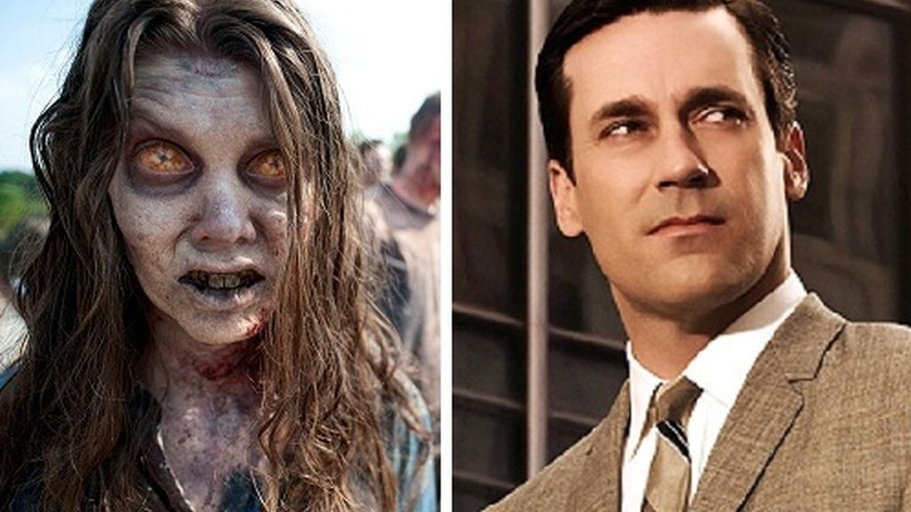 'The walking dead' y 'Mad men'