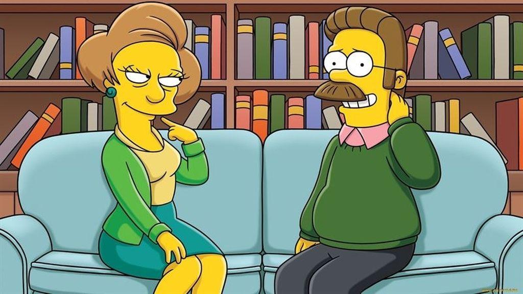 'Los Simpson' se despiden de Edna Krabappel