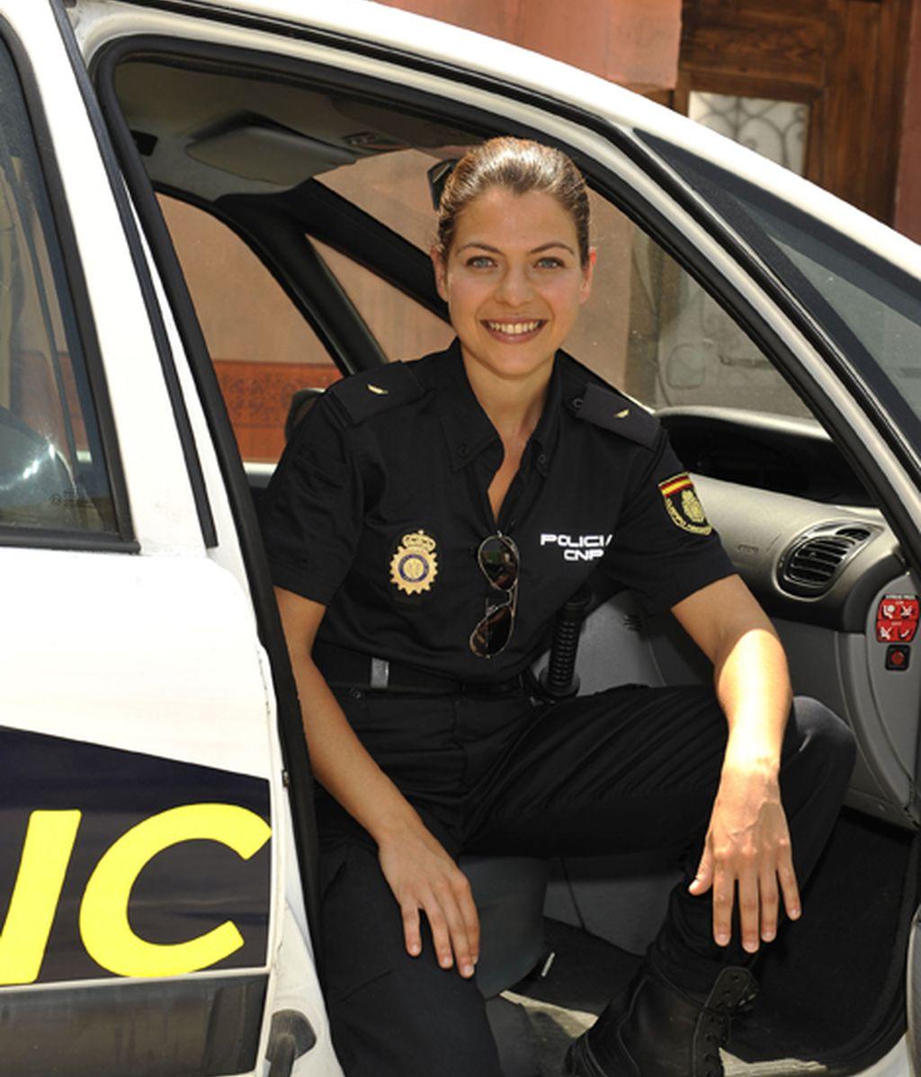 Thais Blume es Mati, la mujer policía en un ambiente hostil