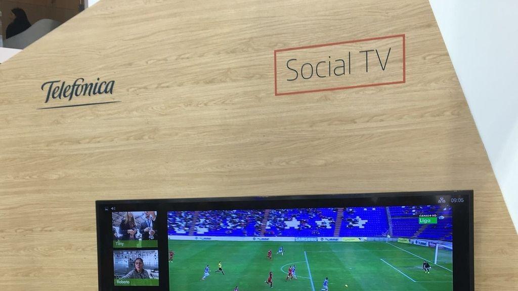 Tv social Telefónica