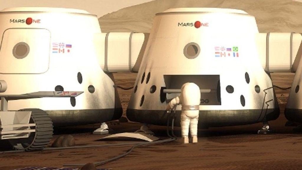 Mars One colonia Marte