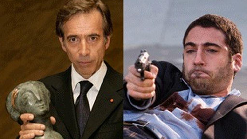 Imanol Arias ('Cuéntame cómo pasó') y Miguel Ángel Silvestre ('Sin tetas no hay paraíso').