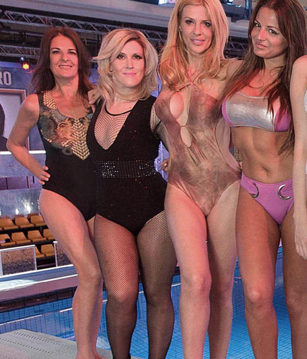 Ángela Portero, Andrea García, Maribel Sanz y Patricia Martínez