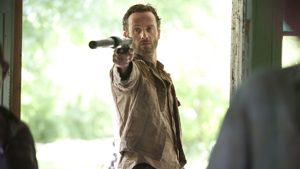 Andrew Lincoln 'The walking dead'