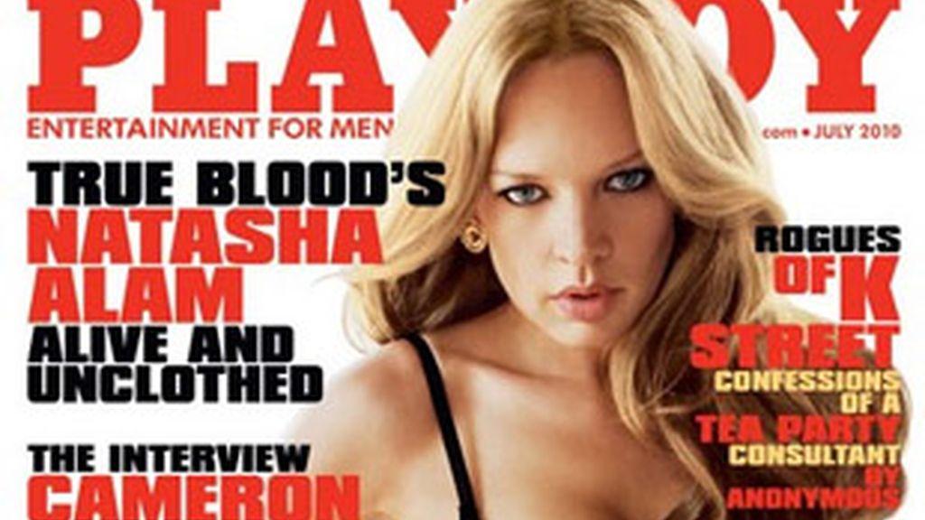 Portada de la edición estadounidense de 'Playboy' de julio de 2010.