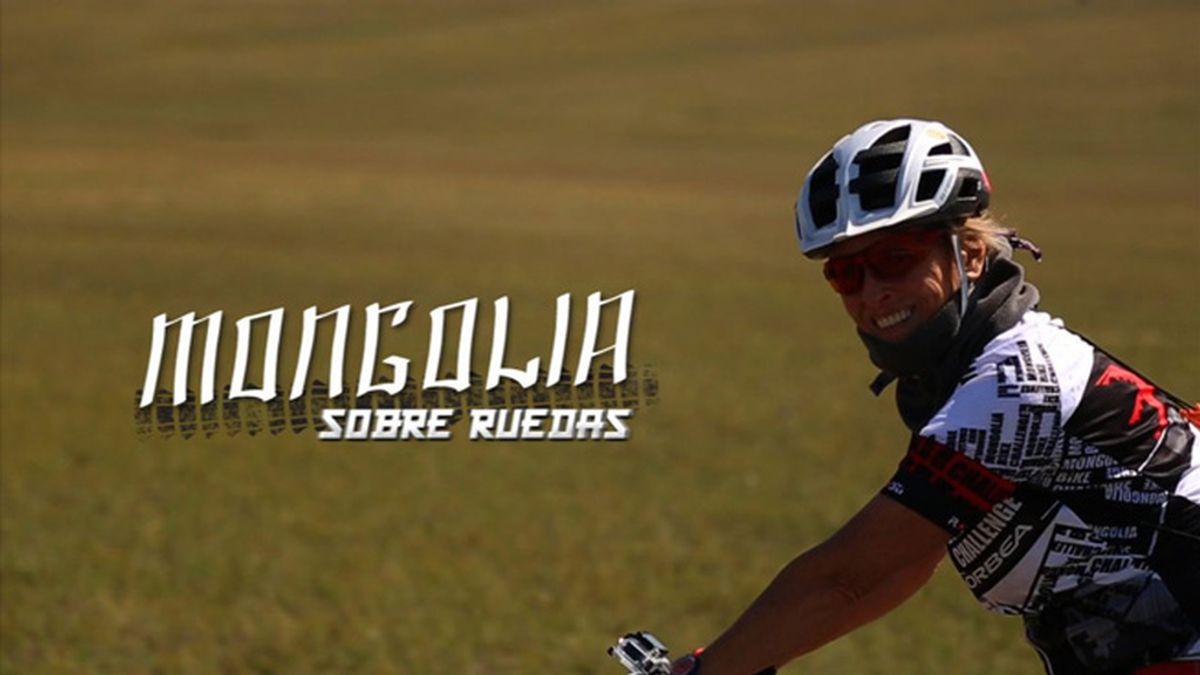 Cartela Mongolia sobre ruedas