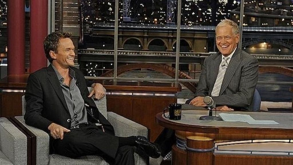 Neil Patrick Harris y David Letterman