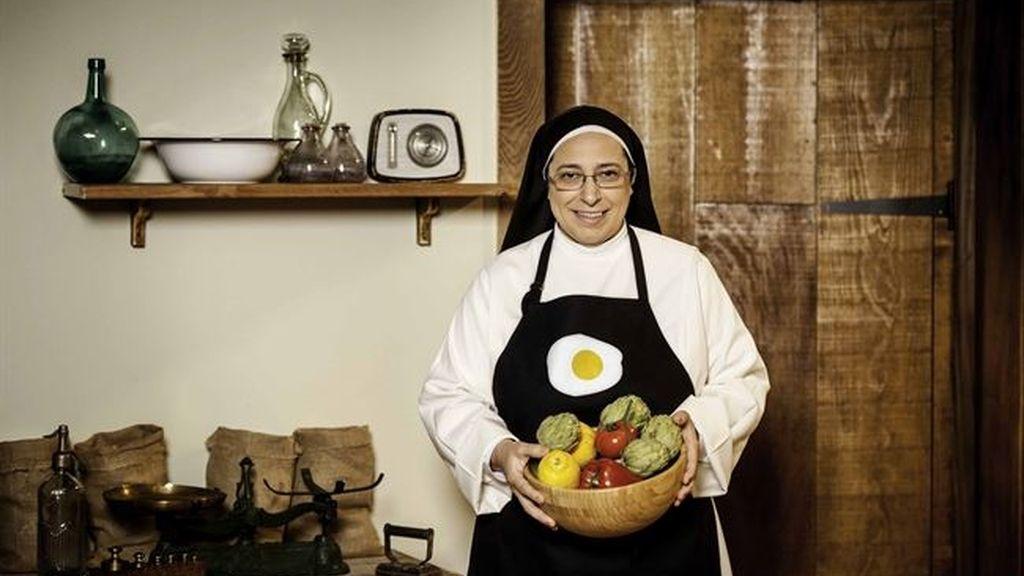 Sor María en Canal cocina