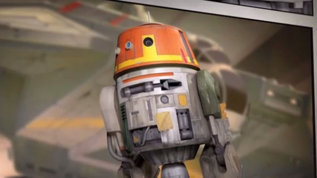 Así es el droide heredero de R2-D2 en 'Star Wars Rebels'
