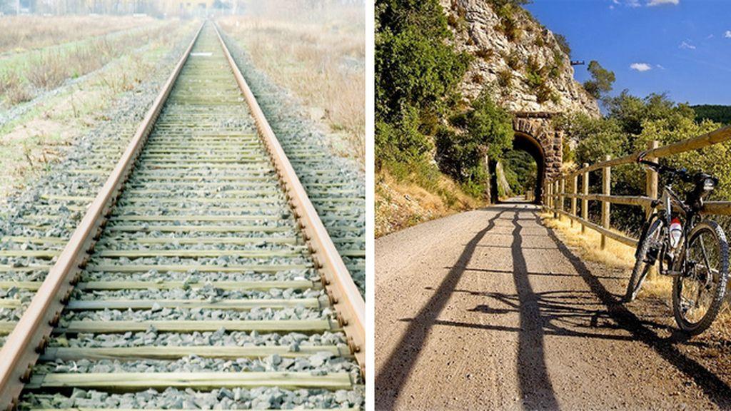 vías verdes before after