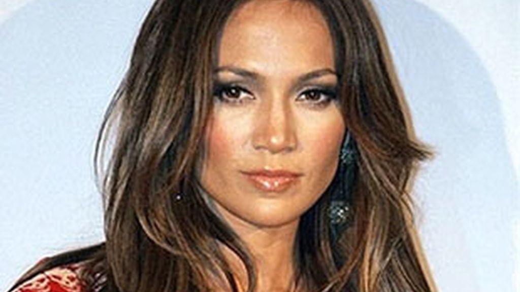 Jennifer López, cantante y actriz.