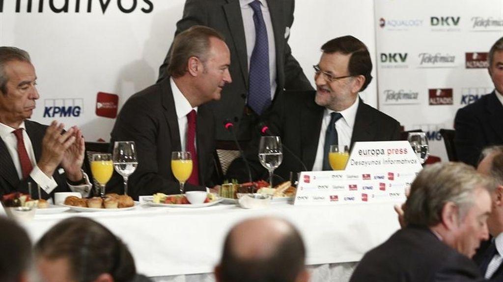 Fabra y Rajoy